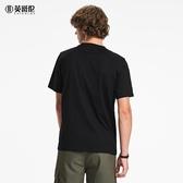 男裝短袖T恤潮流趣味創意小狗印花圖案體恤夏季 潮流衣舍