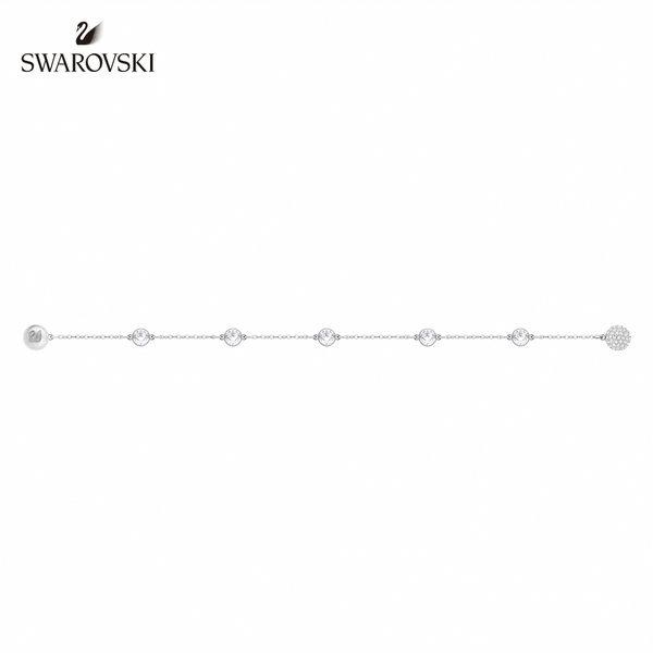 施華洛世奇 Remix Collection 白金色經典別緻飾鏈