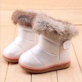 冬季兒童棉靴加厚保暖女童短靴小童學步鞋嬰兒靴0-2歲寶寶雪地靴