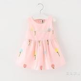 洋裝女童夏裝1/2/3歲女寶寶背心裙3歲小童洋裝嬰幼兒公主裙