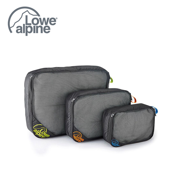 Lowe Alpine Packing Cube 多功能打包袋 | 行李袋  煤炭黑 #FAE07 -M號