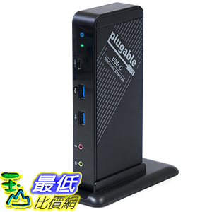 [美國直購] Plugable UD-CA1 充電集線器 USB-C Docking Station with Power Delivery - External