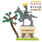 【日本KAWADA河田】Nanoblock迷你積木-伊達政宗騎馬像 NBH-045
