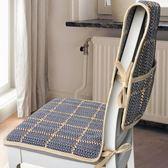 聖誕節交換禮物-棉麻連體餐桌椅子套罩家用坐墊靠背套裝現代簡約布藝椅墊凳子套罩交換禮物