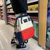 雙肩包女2019新款學生書包旅行大容量外出媽媽包時尚多功能背包『小淇嚴選』