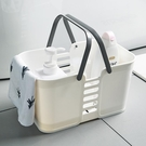 2個裝宿舍收納框手提籃子浴筐洗漱用品收納【聚寶屋】