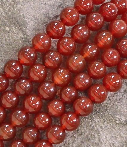 [協貿國際]天然紅瑪瑙散珠14MM29顆圓珠批發價