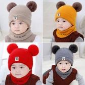 寶寶帽子秋女0-1歲嬰兒公主男童兒童帽子針織帽 萬客居