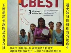 二手書博民逛書店罕見-Hill s CBEST 3 FULL-LENGTH PRACTIVE TESTS 麥格勞-希爾的CBEST