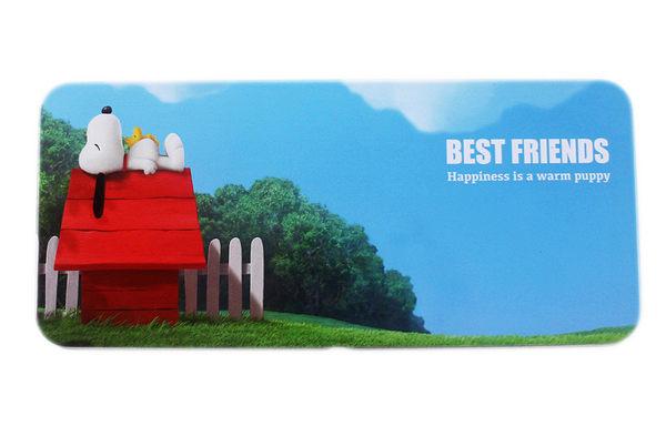 【卡漫城】 Snoopy 鐵筆盒 紅屋 ㊣版 日版 鉛筆盒 糊塗塔克 單層 史奴比 史努比 花生漫畫 電影