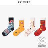 5雙裝 聖誕襪子女潮中筒襪韓版學院風可愛棉襪日系創意長襪【貼身日記】