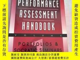 二手書博民逛書店the罕見performance assessment hand