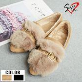 Sugar pie-韓版保暖毛絨包鞋 #E-6