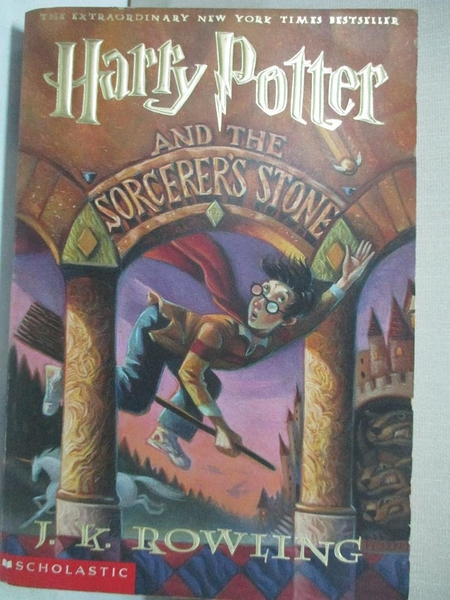 【書寶二手書T1/原文小說_COG】Harry Potter and the Sorcerer s Stone_Rowling, J. K.