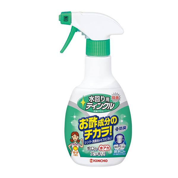 日本 KINCHO 金鳥 醋成分廚房排水口除臭除菌洗淨劑300MLX1入