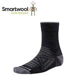 【美國 SmartWool Phd 戶外輕量減震中長襪《 黑》】SW001067/保暖/戶外/運動襪