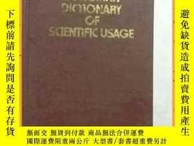 二手書博民逛書店英文書罕見longman dictionary of scientific usage 朗曼科學用法詞典Y16