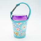 手搖飲料杯套 奶茶 咖啡杯 潛水料 環保手提袋 500CC 700cc  機車掛式【P130】慢思行