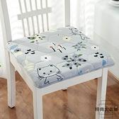 坐墊可拆座墊餐椅墊久坐不累防滑椅子毛絨冬季加厚【時尚大衣櫥】