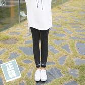 【愛天使孕婦裝】正韓國空運(62427)正韓 磨毛棉反摺內搭褲 孕婦褲(瑜珈腰圍)