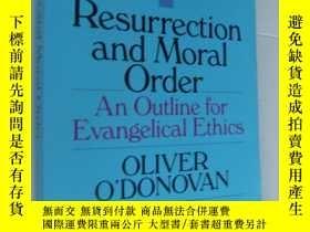 二手書博民逛書店RESURRECTION罕見and MORAL ORDER:An