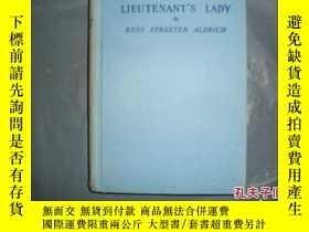 二手書博民逛書店THE罕見LIEUTENANT,S LADY ~BESS STR