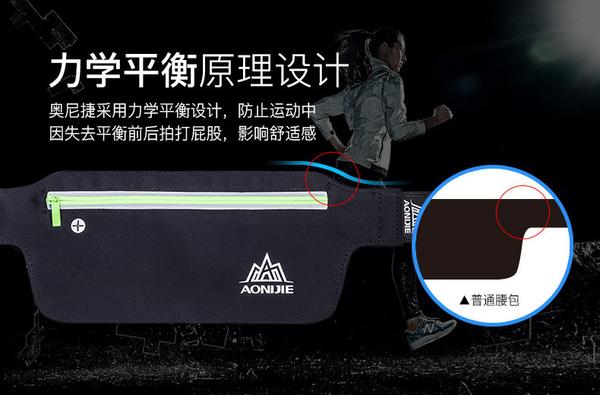 出清男女戶外防水貼身隱形運動腰包 馬拉松跑步手機包 騎行裝備 健身夜跑 旅遊腰包 臀包