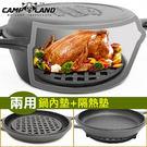RV-IRON027荷蘭鍋專用鍋內墊(直徑20CM附橡膠腳墊)襯架鍋架蒸架【MAGIC 美極客】專賣店