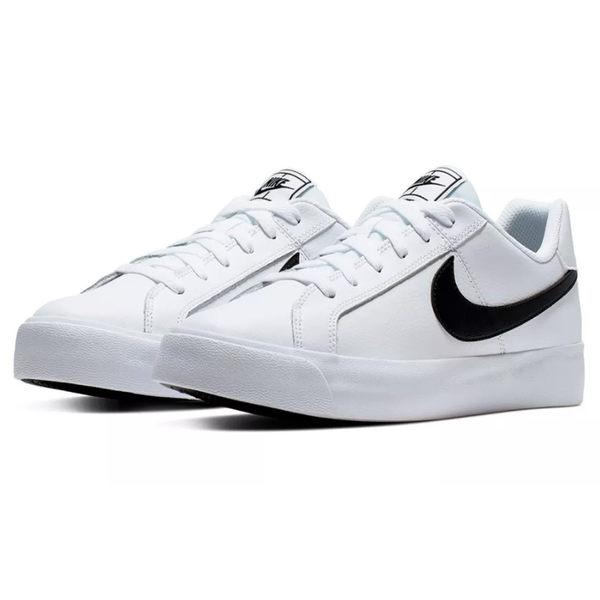 NIKE COURT ROYALE AC 男鞋 休閒 板鞋 皮革 白 【運動世界】 BQ4222-103