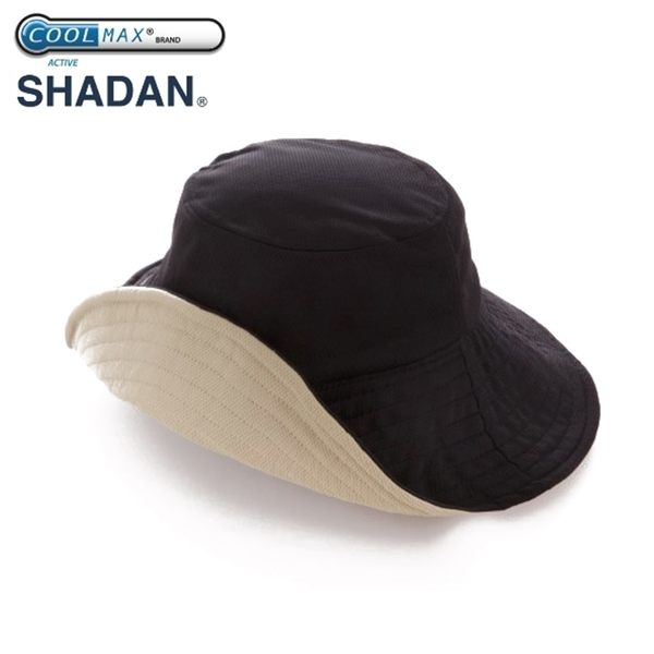又敗家@日本NEEDS寬帽簷折疊涼感帽COOLMAX抗UV雙面防曬遮陽帽夏季戶外防曬帽寬版帽遮陽防曬帽#796