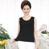 媽媽春夏季新款寬松內搭無袖T恤中年人女士外穿打底蕾絲 花樣年華