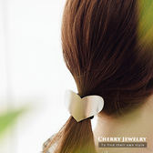 磨砂愛心造型髮束【櫻桃飾品】【10359】