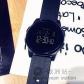 手錶/運動男女電子錶數字式防水夜光超薄「歐洲站」