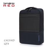 Samsonite RED【CALVAD GF9】新秀麗 14吋筆電後背包 簡約設計 可插掛 超輕0.8kg