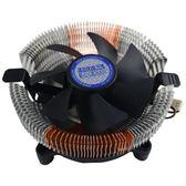 超頻三青鳥cpu散熱器銅加鋁材質 775/115X/1366amd多兼容 cpu風扇【韓衣舍】