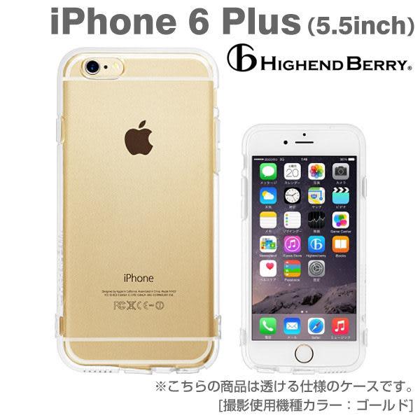 ❤Hamee 日本 Highend Berry 設計圖樣系列 透明TPU軟式 5.5吋 iPhone6 Plus 手機殼 (無印) [558-984114]