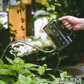 透明水壺家用樹脂澆花水壺施肥壺淋花盆栽澆水器灑水壺 雙十一全館免運