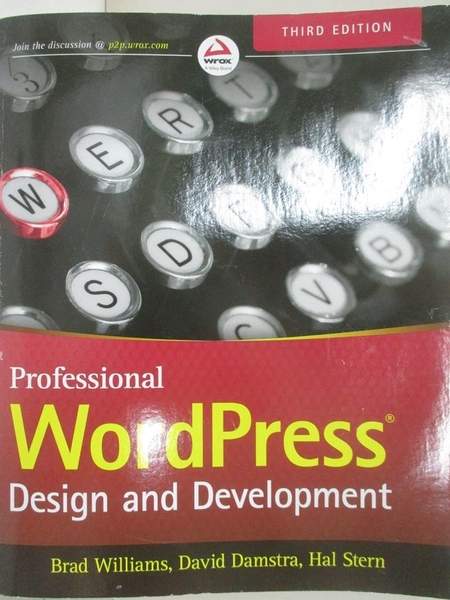 【書寶二手書T1/電腦_DZA】Professional WordPress + Website: Design and Development