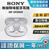 【創宇通訊│全新品】台灣公司貨 SONY 真無線藍芽降躁耳機 WF-SP800N 開發票