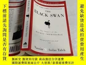 二手書博民逛書店The罕見Black Swan:Second Edition: The Impact of the Highly