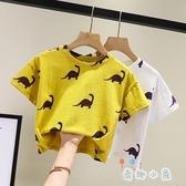 男女童短袖T恤純棉兒童上衣寶寶半袖上衣薄款【奇趣小屋】