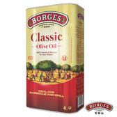 【西班牙BORGES百格仕】中味橄欖油(4L/瓶)