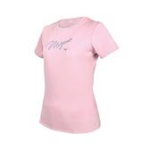 MIZUNO 女短袖T恤(免運 台灣製 上衣 吸濕排汗 抗UV 咖啡紗 美津濃≡體院≡ 32TA170166