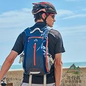 運動雙肩背包輕便大容量騎行旅行登山背包書包戶外背囊男女【步行者戶外生活館】