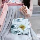 古風包包手提包斜跨女口金包斜挎包蓮花漢服流蘇繡花旗袍復古女包 蘿莉新品