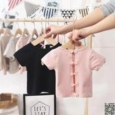 短袖 女寶寶t恤短袖夏季新款露背棉質1-2-3-4-5歲兒童嬰幼兒女童上衣潮 2款