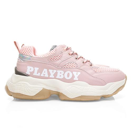 PLAYBOY RetroII 兔兔老爹鞋-粉(Y5725)