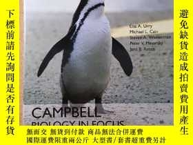 二手書博民逛書店Campbell罕見Biology in Focus (2nd