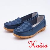 kadia .樂活舒適牛皮休閒鞋9519 50 藍色