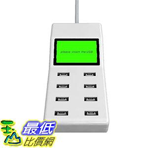 [美國直購] EverYoung 8-Port USB Charging Hub Multi Port Charger USB Charger 白色 集線器